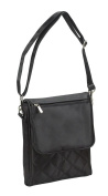 SAVVY LADIES SLING SHOPPING PACK - BLACK