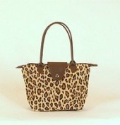 NF1LEP - Leopard Small Fold-Up Tote