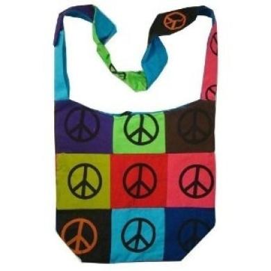 ~ Stunning Heavy Canvas Boho Shoulder Bag India ~
