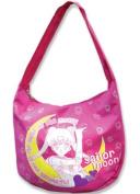 Sailor Moon Shoulder Pink Zip Top Handbag