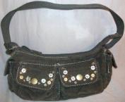 Jounior Cordry Hobo Fashion Girls Hand Bag Sage Green