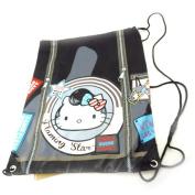 "Sports bag ""Hello Kitty"" black."