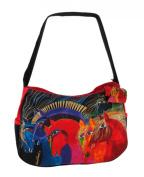 Laurel Burch Wild Horses of Fire Hobo Bag