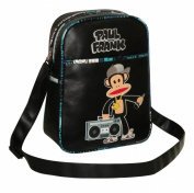 Paul Frank Unisex Julius Monkey Boom Box Rapper Flight Bag White
