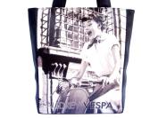 Audrey Hepburn Vespa Retro Shoulder Tote Bag Handbag Purse