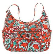 Bella Taylor Bali Bright Vanessa Quilted Shoulder Hobo Bag