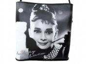 Audrey Hepburn Signature Classic Womens Shoulder Tote Handbag