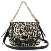 Christian Audigier Cate Crossbody Shoulder Bag -Leopard