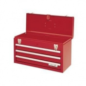 Waterloo PCH2030 20-1/2 Long by 8-1/2 Wide by 12-3/4 High Red 2Dr Metal Tool Box