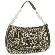 Christian Audigier Meredith Shoulder Bag -Leopard
