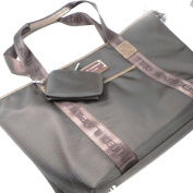 "Shopping bag ""Ted Lapidus"" brown."