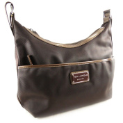 "Shoulder bag bag ""Ted Lapidus"" brown."