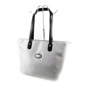 "Shopper bag ""Hexagona"" light gray."