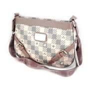 """Shoulder bag """"Jacques Esterel"""" gray pink."""