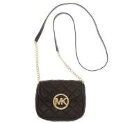 Michael Kors Handbag Fulton Quilt Small Crossbody Black
