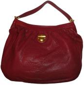 Women's Marc Jacobs Leather Purse Handbag Hobo Wine