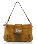 Designer Inspired Raina Handbag - Mustard