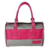 [Romantic France] Onitiva Leatherette Double Handle Satchel Bag Handbag Purse