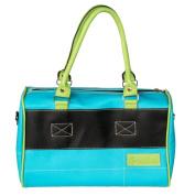 [Corn Mint] Onitiva Leatherette Double Handle Satchel Bag Handbag Purse