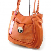 "Bag ""Fuchsia"" orange."
