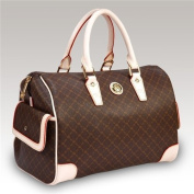 Rioni Aristo (Brown) - Large Boston Bag St-20015