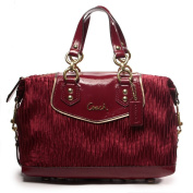 Coach Gathered Ashley Red/ Burgendy Bordeaux Satchel 20084