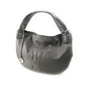 "Leather bag ""Hexagona"" mole."