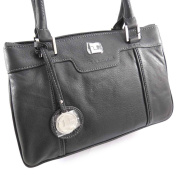 "Leather bag ""Ted Lapidus"" black."