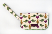 Bungalow360 Bird Wristlet