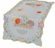 Xia Home Fashions Country Egg Table Runner, 40.6cm by 86.4cm