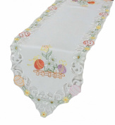 Xia Home Fashions Country Egg Table Runner, 30.5cm by 121.9cm