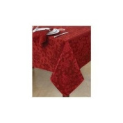 Sam Hedaya Table Linens, Dinner Party Noel Red 33cm X 182.9cm Table Runner