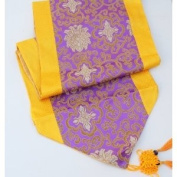 Fortune Flower Table Runners - Purple