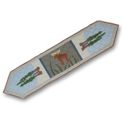 Patch Magic 182.9cm by 40.6cm Moose and Eagle Motif Table Runner