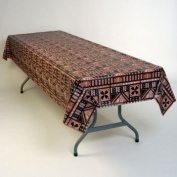 Hawaiian Tapestry Plastic Tablecloth 137.2cm x 274.3cm