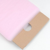 Light Pink 137.2cm Tulle Fabric Bolt 137.2cm 40 Yards
