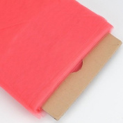 Coral 137.2cm Tulle Fabric Bolt 137.2cm 40 Yards