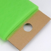 Apple Green 137.2cm Tulle Fabric Bolt 137.2cm 40 Yards