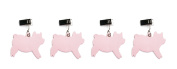 Charcoal Companion Pig Tablecloth Weights, Set of 4