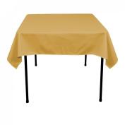 137.2cm . Square Polyester Tablecloth Copper