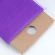 Purple 137.2cm Tulle Fabric Bolt 137.2cm 40 Yards