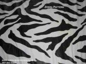 76.2cm X 243.8cm Zebra Print Kwik Covers-6 Pack