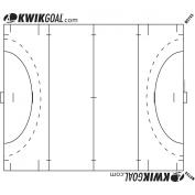 Kwik Goal Kwik Charts - Field Hockey Full Field