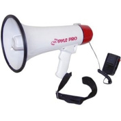 Professional Megaphone/Bullhorn with Siren and Hand-Held Microphone