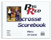 Mens Big Red Lacrosse Scorebook