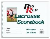 Womens Big Red Lacrosse Scorebook