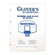 Glovers Scorebooks Basketball Scoring and Stats Sheets