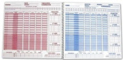Score-Right Men's Lacrosse 30-Game Scorebook