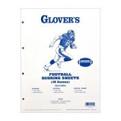 Glovers Scorebooks Football Scoring and Stats Sheets