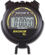 ACCUSPLIT Survivor Stopwatch with Clock and Extra-Large Display